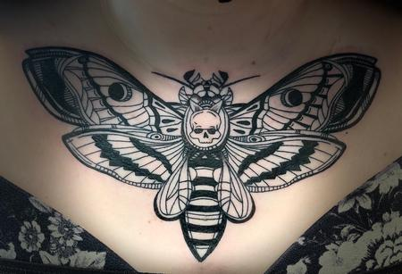 Tattoos - Death moth - 142385