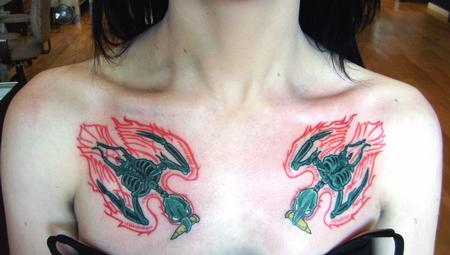 Tattoos - Bomber Birds - 140940