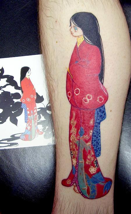 Tattoos - Ai Yamaguchi Print as Tattoo - 141001