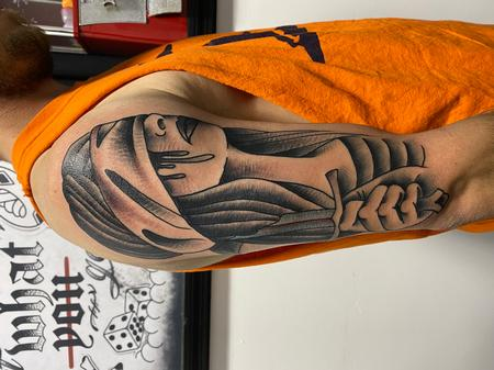 Tattoos - Lady justice - 142599