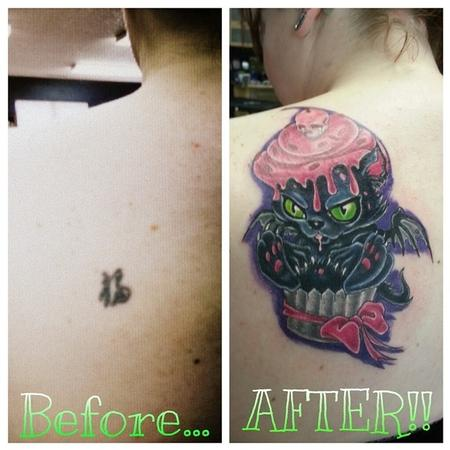Tattoos - Before and After - 140977