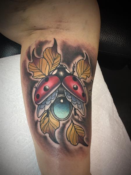 Tattoos - Lady bug - 132347