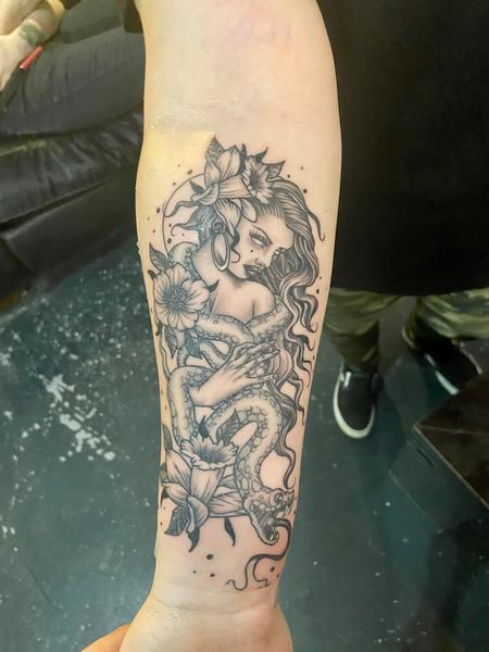Tattoos - Snake girl - 142592