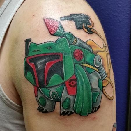 Tattoos - Bulba Fett Pokémon/Star Wars Mashup  - 140821