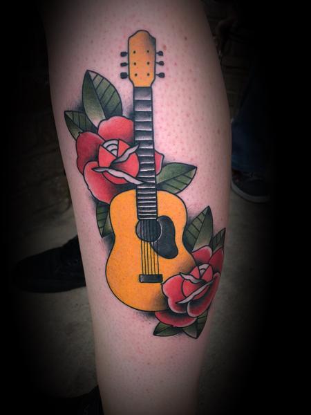 Tattoos - Guitar - 134480