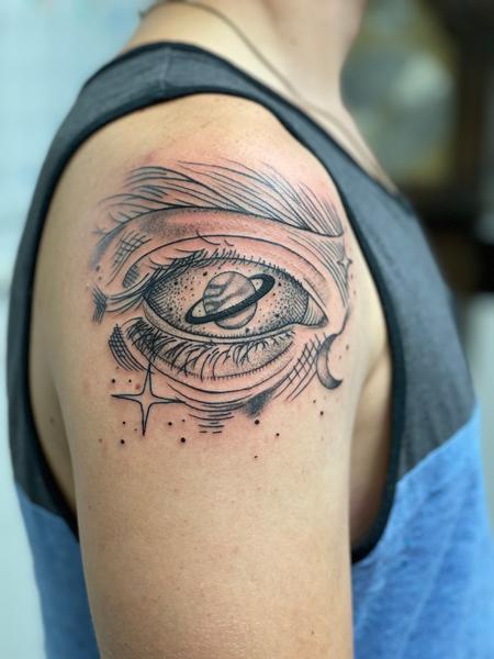 Tattoos - Eye space  - 143290