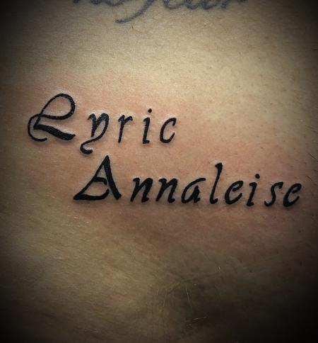 Tattoos - Lettering - 134566