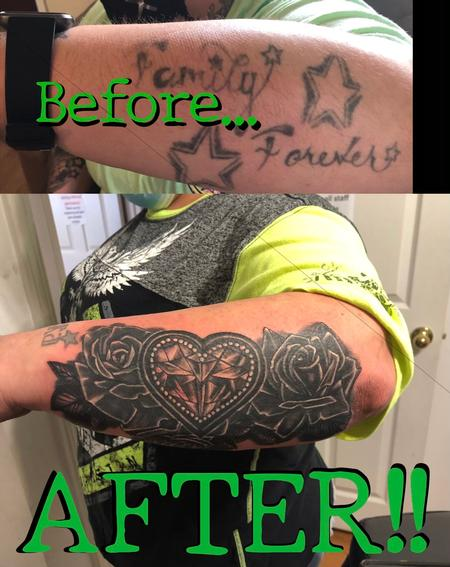 Tattoos - Coverup - 142620