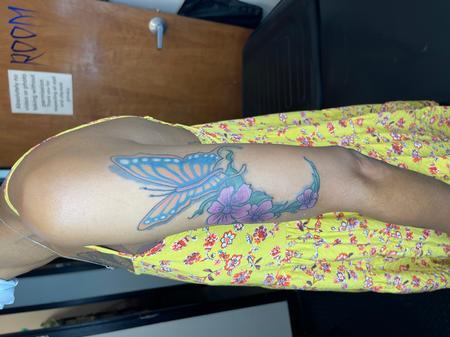 Tattoos - Reworking old cherry creek flash - 143279