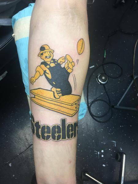 Tattoos - Steelers football  - 134489