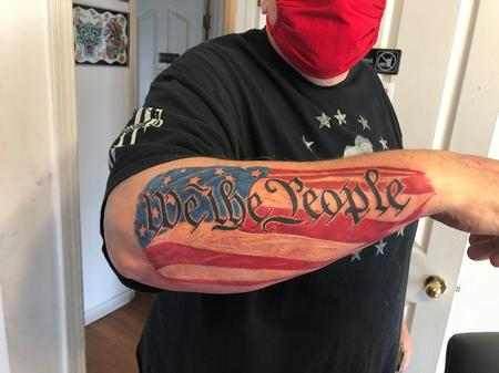 Tattoos - Flag - 142622