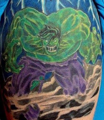 Tattoos - Hulk - 140982