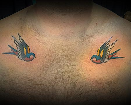 Tattoos - Sparrows - 138476