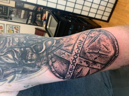 Tattoos - Spartan shield - 141681
