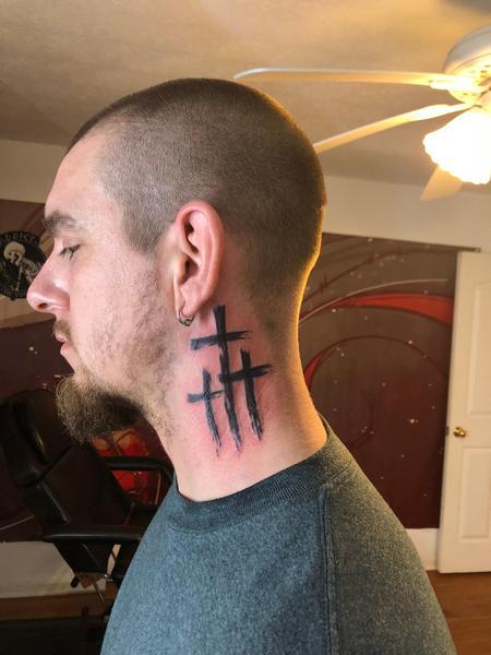 Tattoos - Crosses - 136182