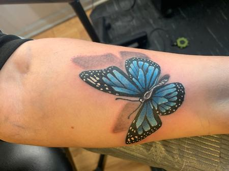 Tattoos - Butterfly - 141231