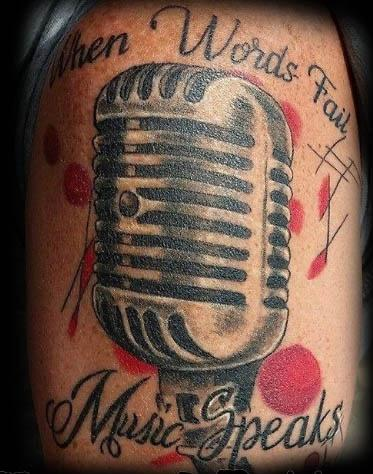 Tattoos - Microphone - 140953