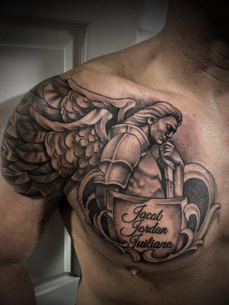 Tattoos - Guardian Angel - 134482