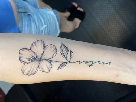 Tattoos - Sister flower - 143189