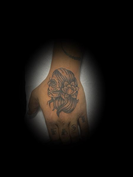 Tattoos - Sugar skull lady - 140492