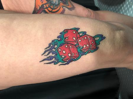 Tattoos - Dice - 142543