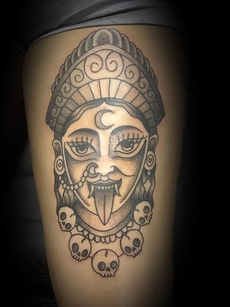 Kali Goddess Design Thumbnail