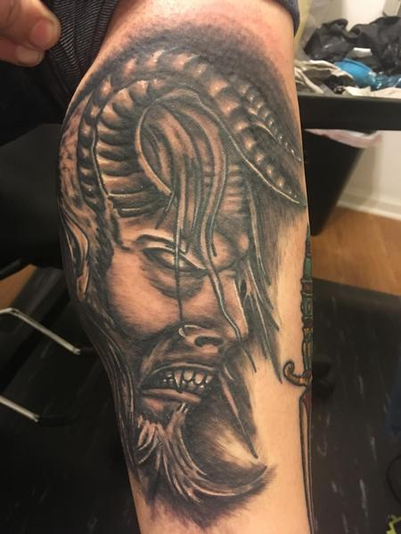 Tattoos - Demon head - 139962
