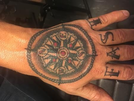 Tattoos - Traditional compass - 139816