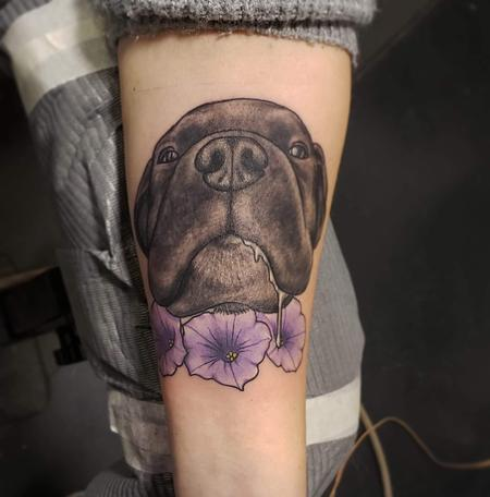 Tattoos - Pet dog portrait - 141325