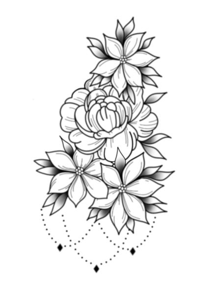 Tattoos - Flowers - 137313