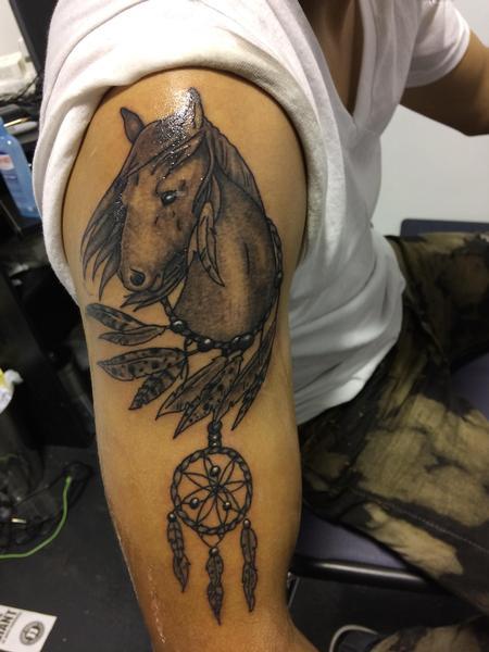 Tattoos - Horses  - 134579