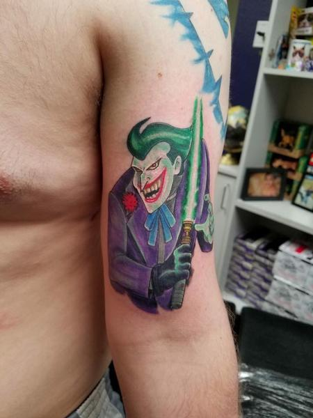 Tattoos - Joker Jedi - 140945