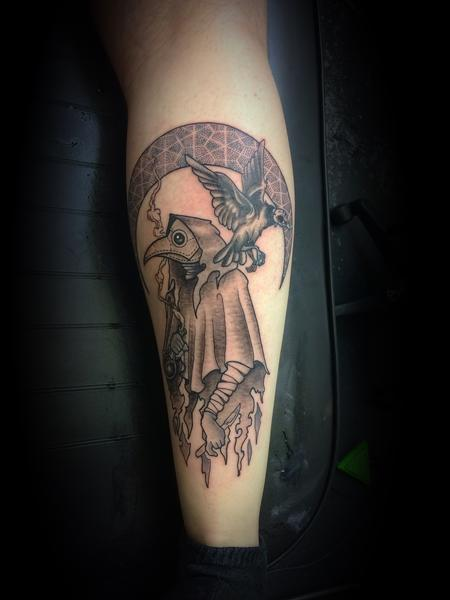 Tattoos - Plague Doctor  - 141542
