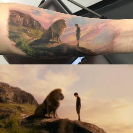 Tattoos - Lion - 142861
