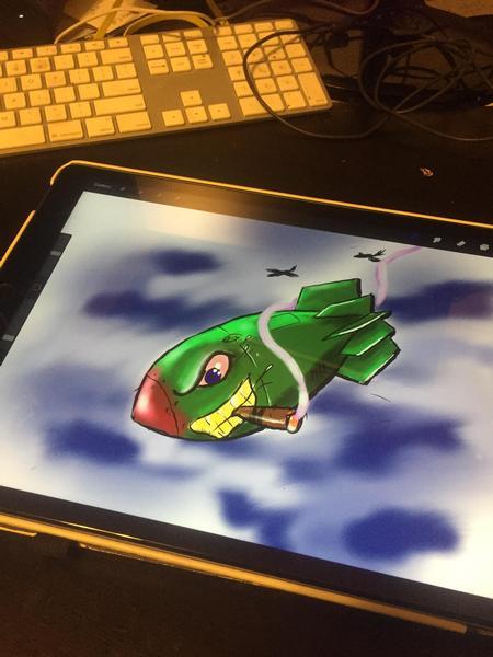 Jaisy Ayers - iPad bomb