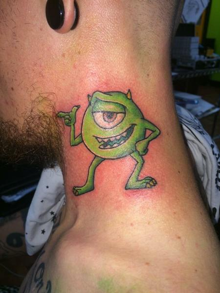 Tattoos - Mike Wazowski from