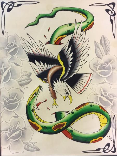 Christopher Arthur - Traditional snake