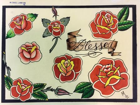 Christopher Arthur - Roses, roses and more roses