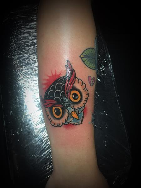 Dylan Talbert Davenport - Owl head