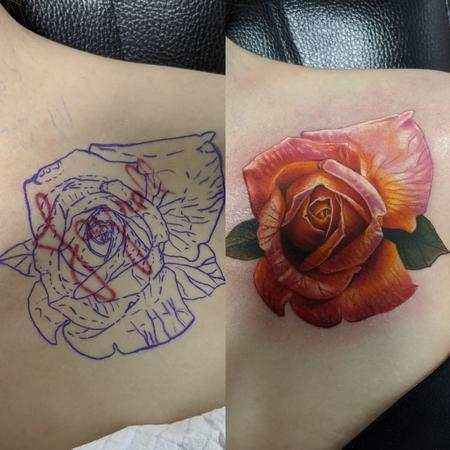 Tattoos - Rose - 142073
