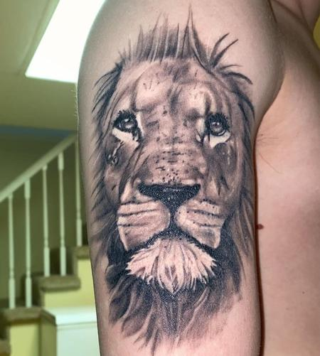 Tattoos - Lion - 142071