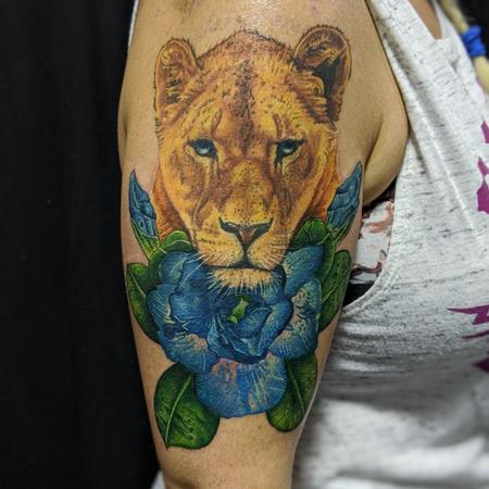 Tattoos - Lioness - 142054
