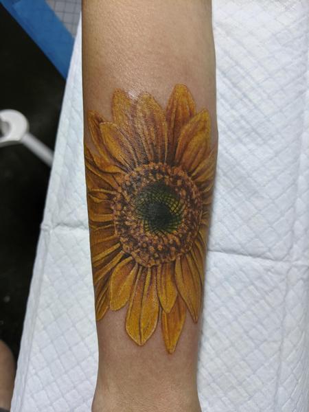 Tattoos - Sunflower - 142069
