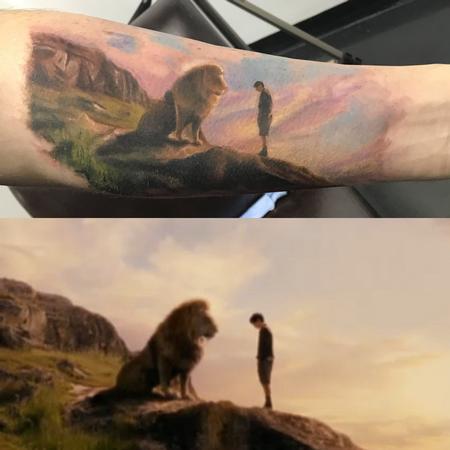 Tattoos - Narnia design - 143319