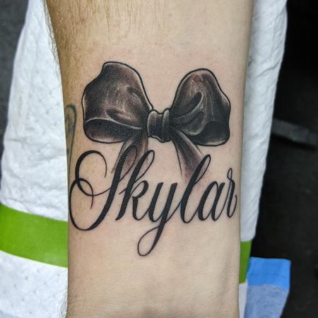 Tattoos - Name tattoo - 143320
