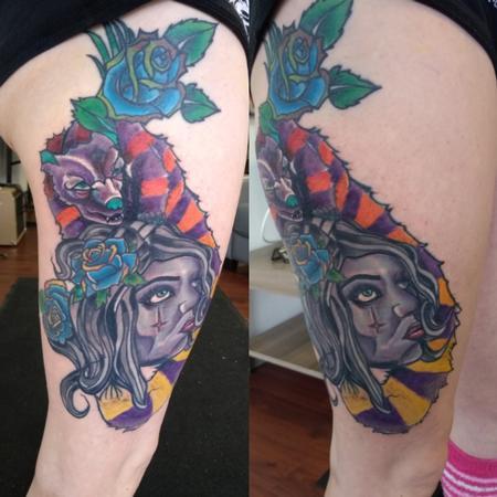 Tattoos - face - 133854