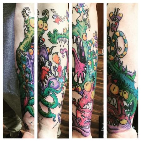 Tattoos - monsters - 133860
