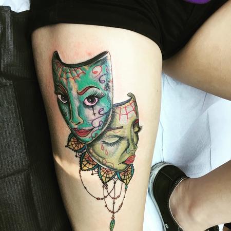 Tattoos - masks - 133864