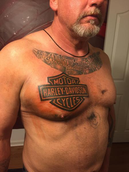 Tattoos - Harley - 123031