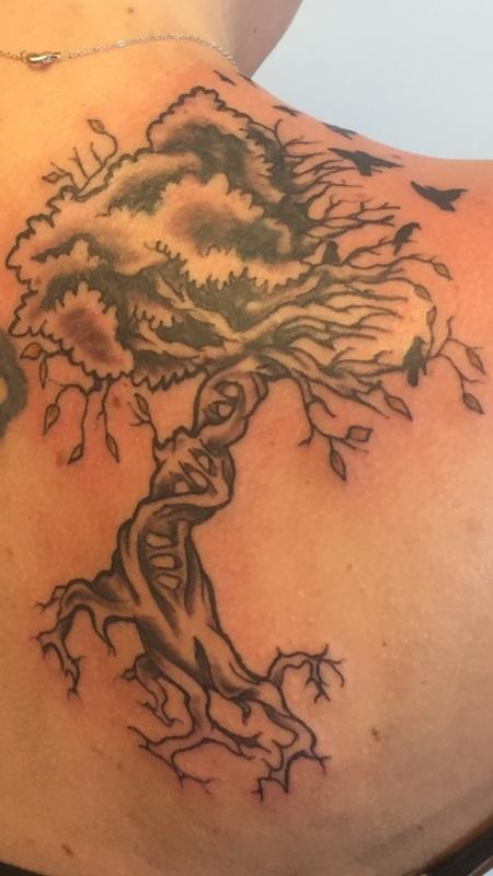Tattoos - tree - 123099